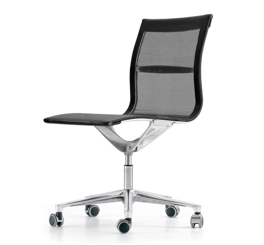 ICF Una Chair Management Schienale Basso UNA gallery5