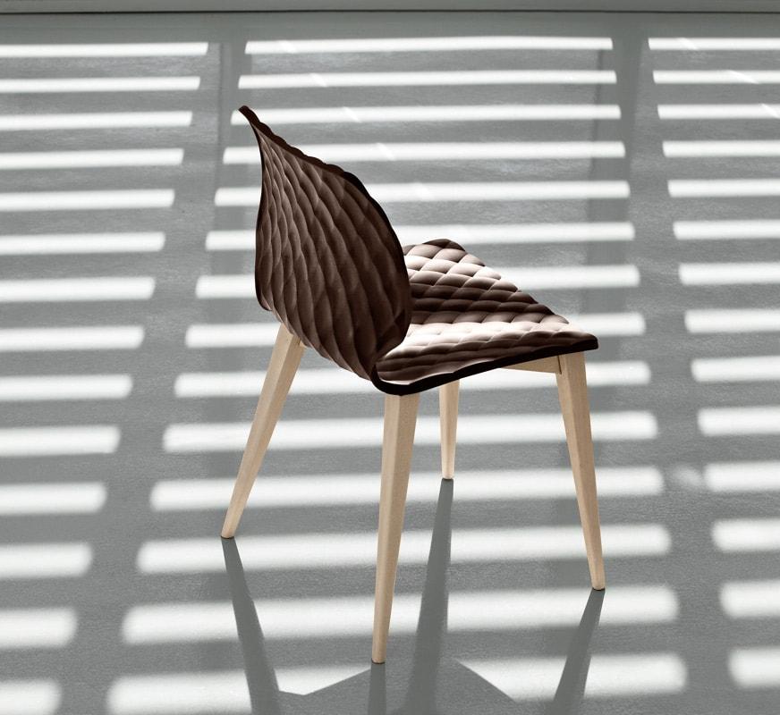 METALMOBIL UNI Sedia 4 gambe Legno gallery 1