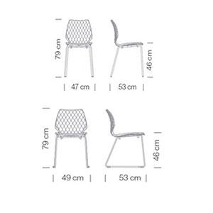 Et al. Uni sedia dimensioni