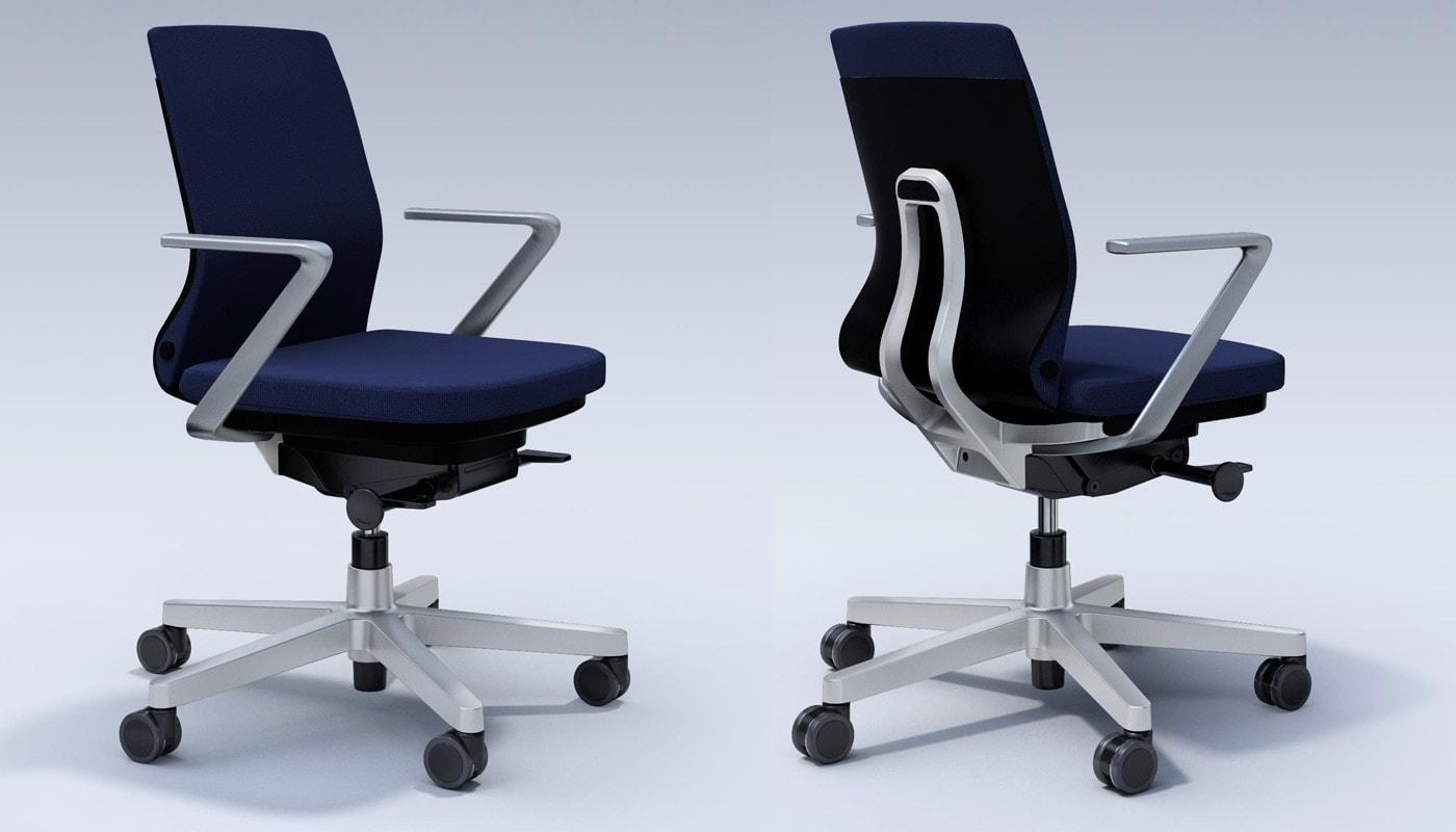 ICF Pyla Chair poltrona ufficio braccioli fissi gallery2