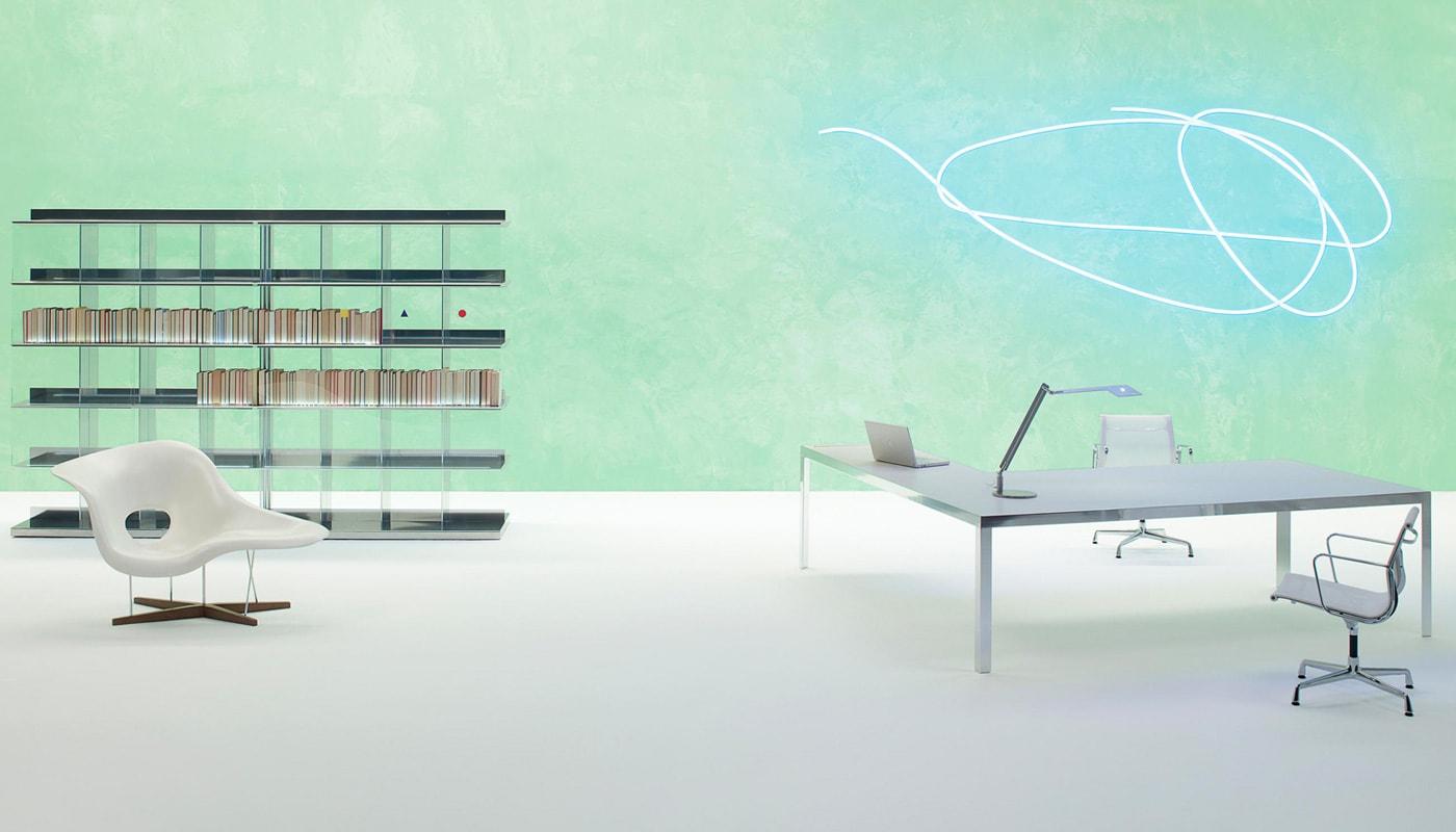 UNIFOR Naos System tavolo libreria gallery
