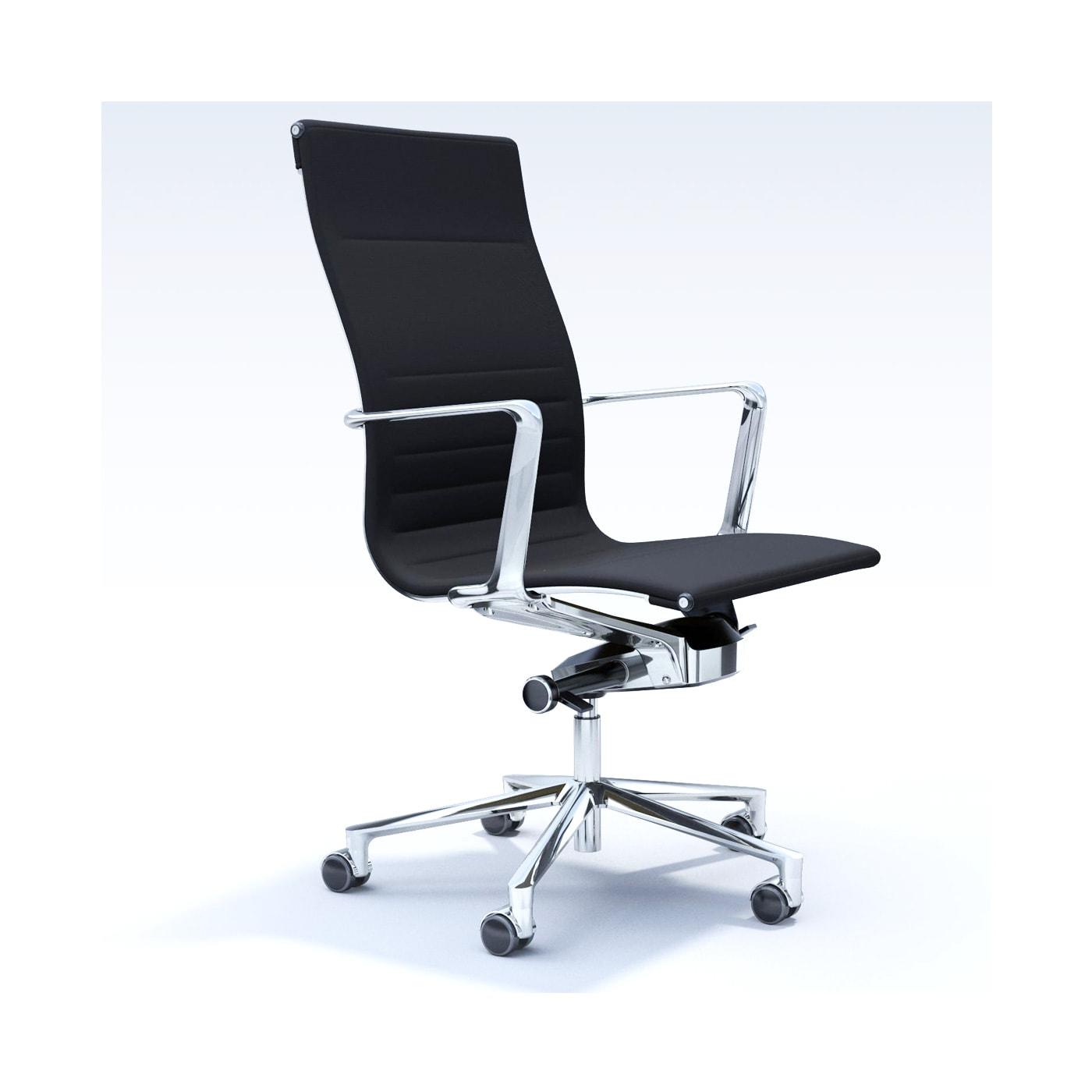 ICF Una Chair Management Schienale Alto