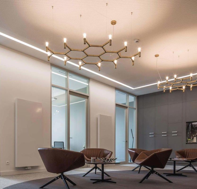 NEMO CROWN PLANA lampada sospensione gallery 2
