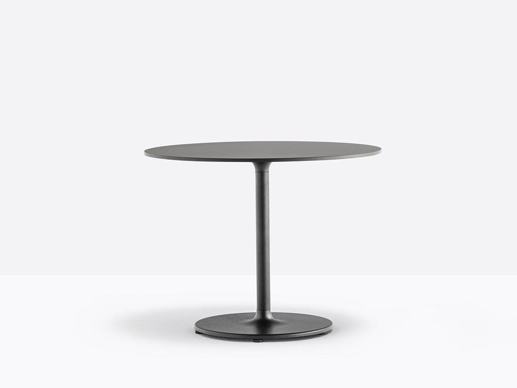 Pedrali Stylus tavolo nero h50 - gallery