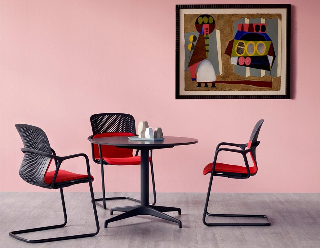 Herman Miller seduta KEYN cantilever gallery 11