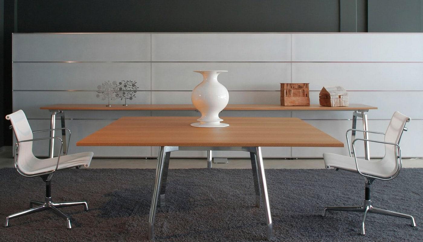 UNIFOR MDL tavolo shoroom pesaro gallery4