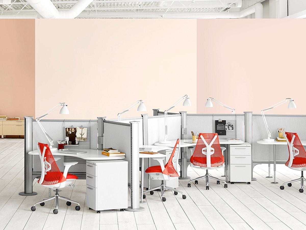 Uno studio (ergonomico) in rosso