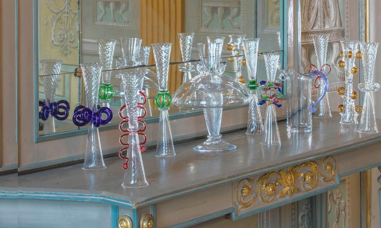 Driade Bicchieri da collezione Bagatti Valsecchi, Bibi I e Marina