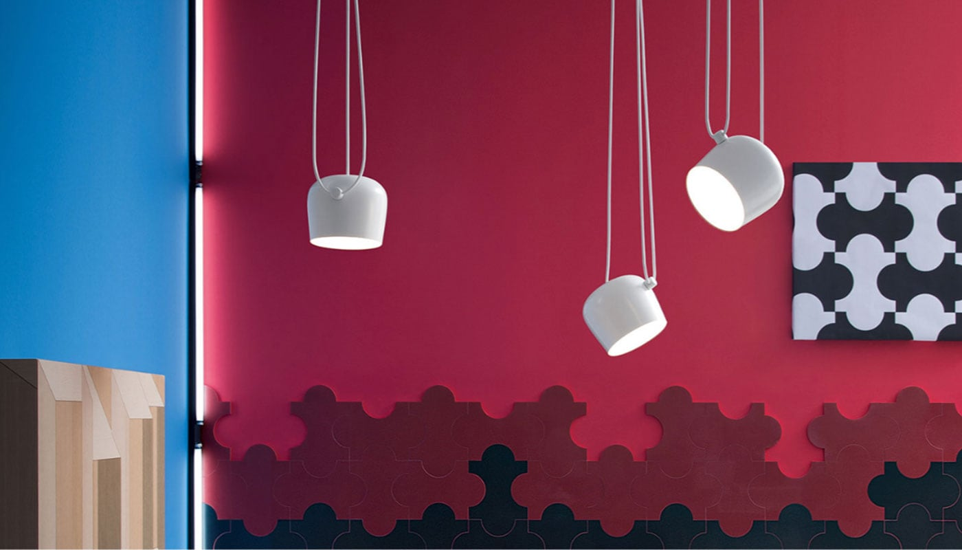 Aim lampada a sospensione Flos