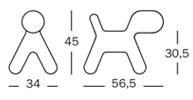 Magis Puppy medium - dimensioni