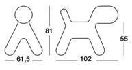 Magis Puppy XL - dimensioni