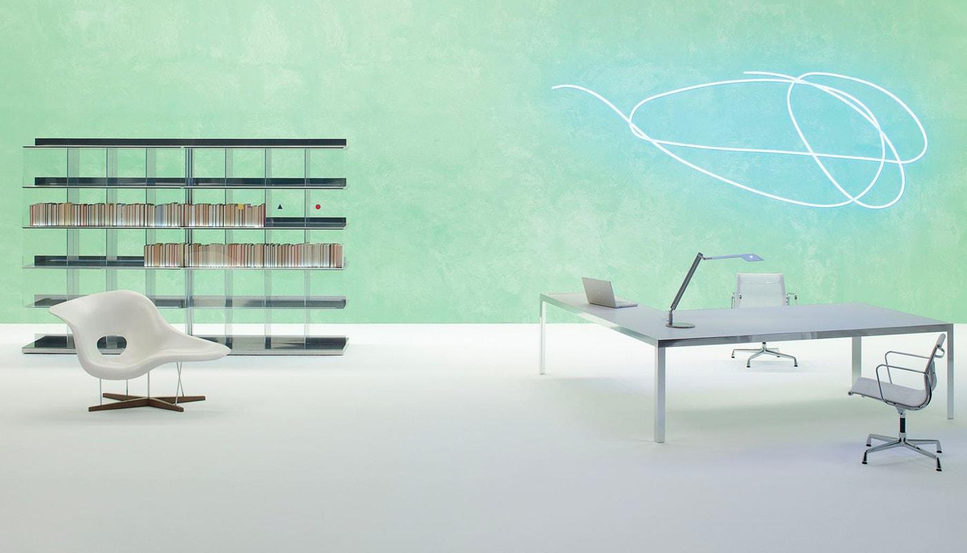 UNIFOR Naos libreria tavolo gallery2