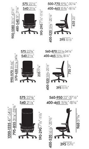 Pacific Chair poltrona ufficio