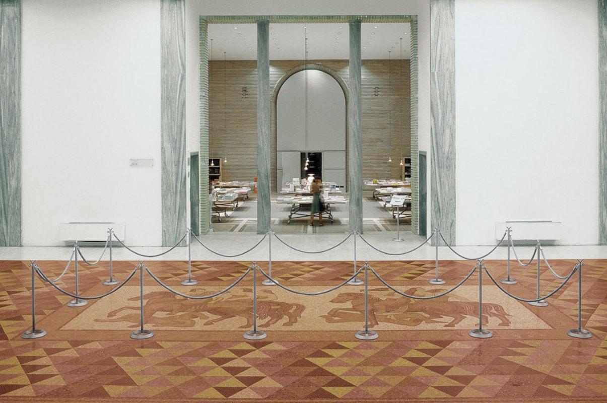Caimi Battista stanchions colonnine con cordone - gallery