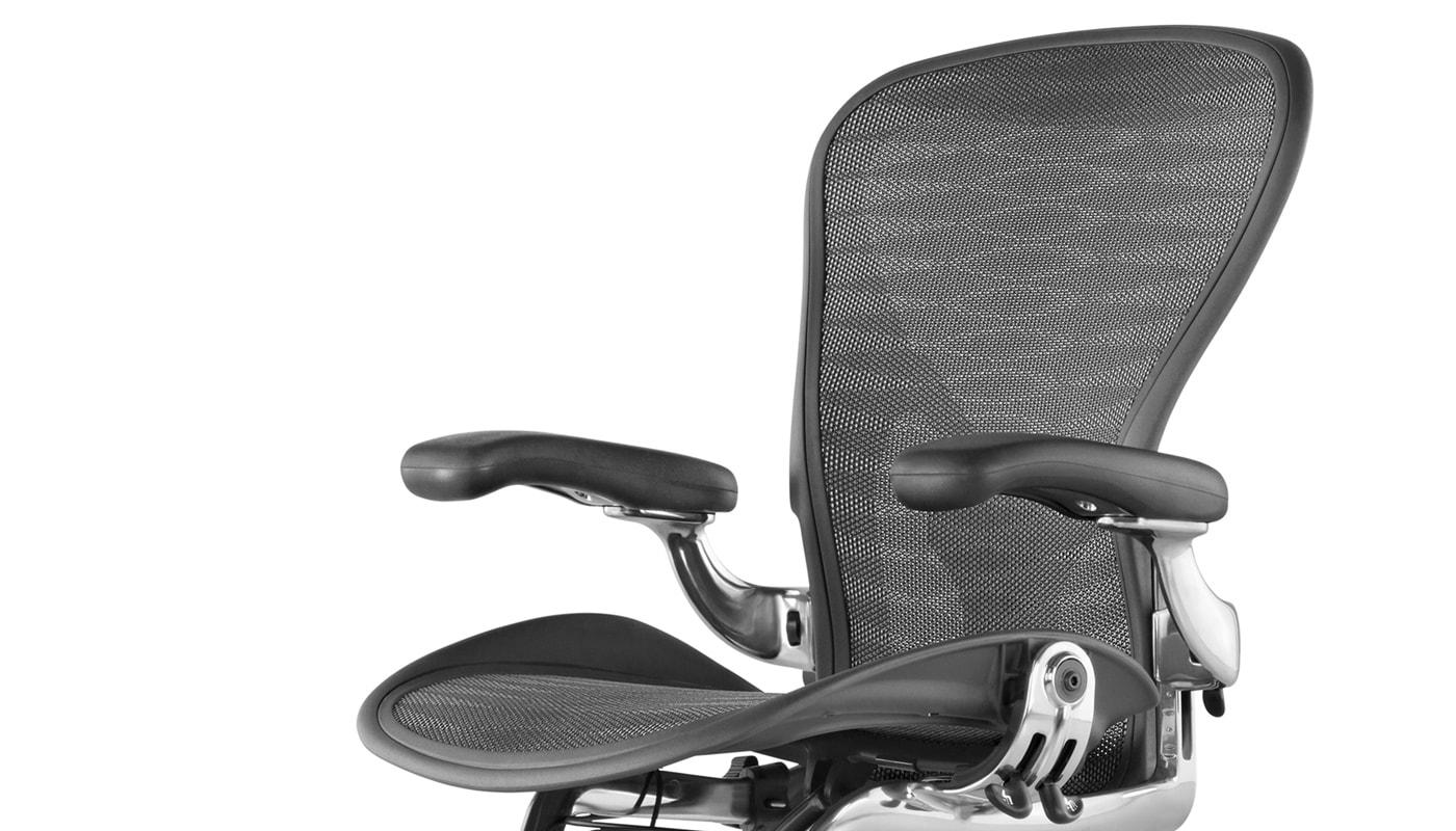 Herman Miller Aeron Classic sedia ufficio full optional - gallery