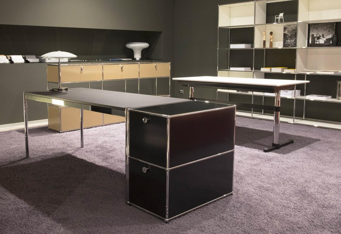 USM Haller scrivania - Kitos tavolo regolabile in altezza - gallery - shop online