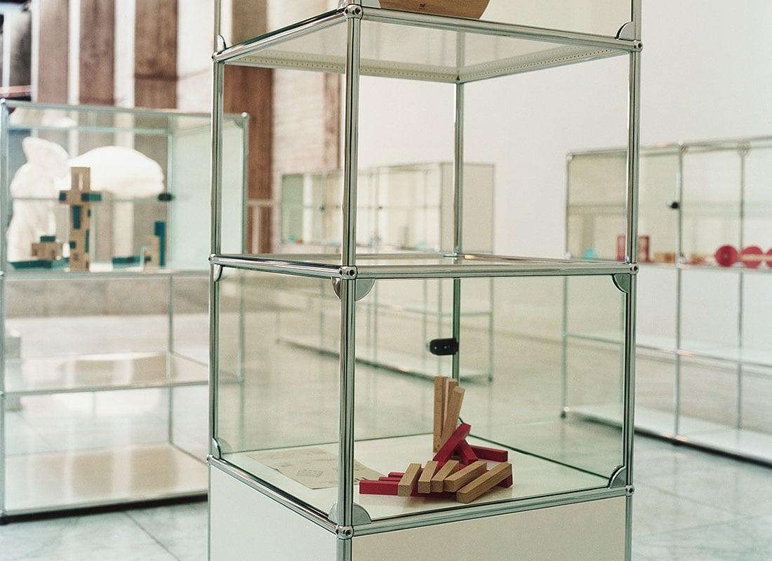 Haller espositore in vetro