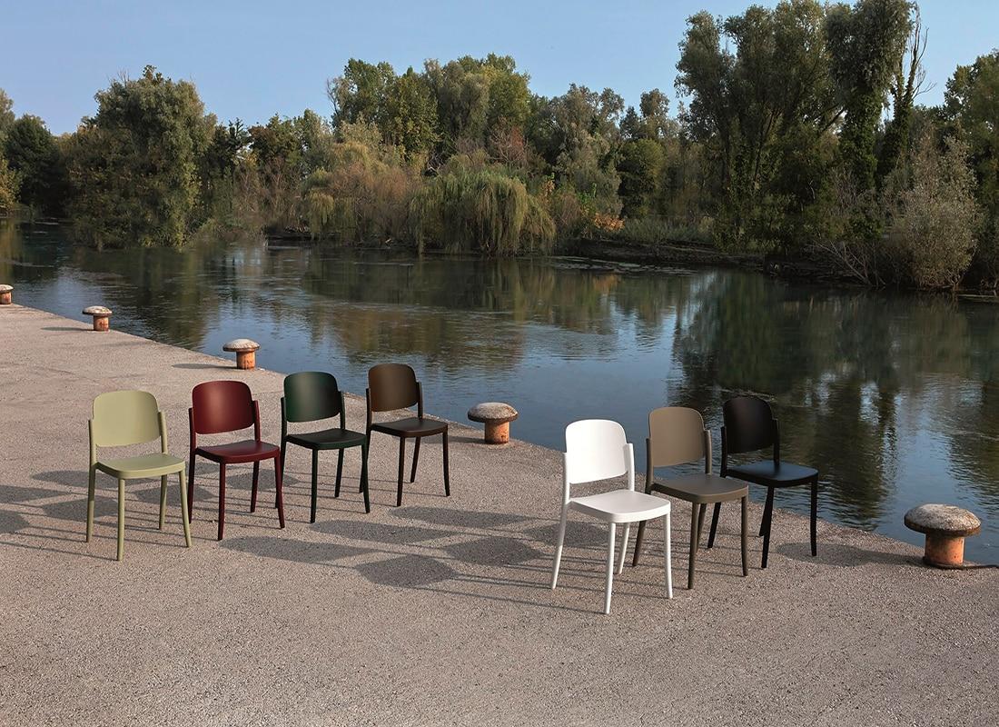 COLOS sedia impilabile gallery 1