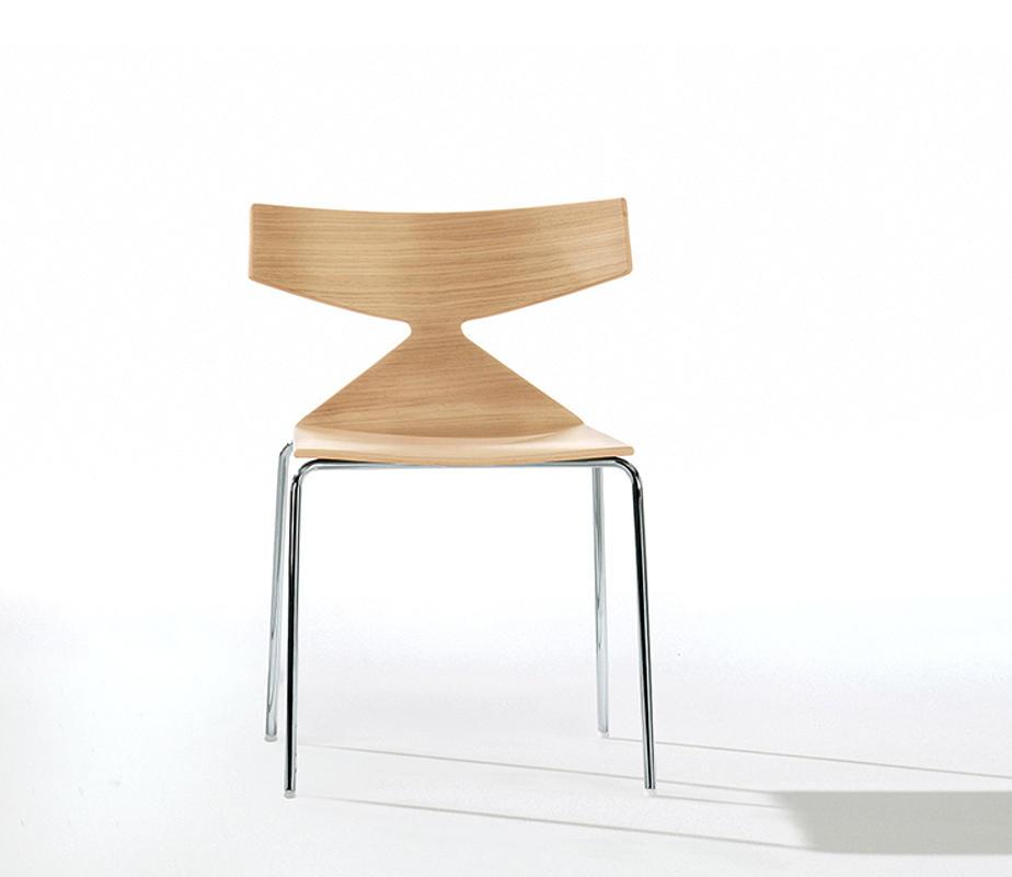 ARPER Saya sedia legno 4 gambe gallery2
