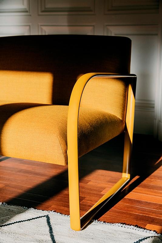 Arcos poltrona o divano Arper