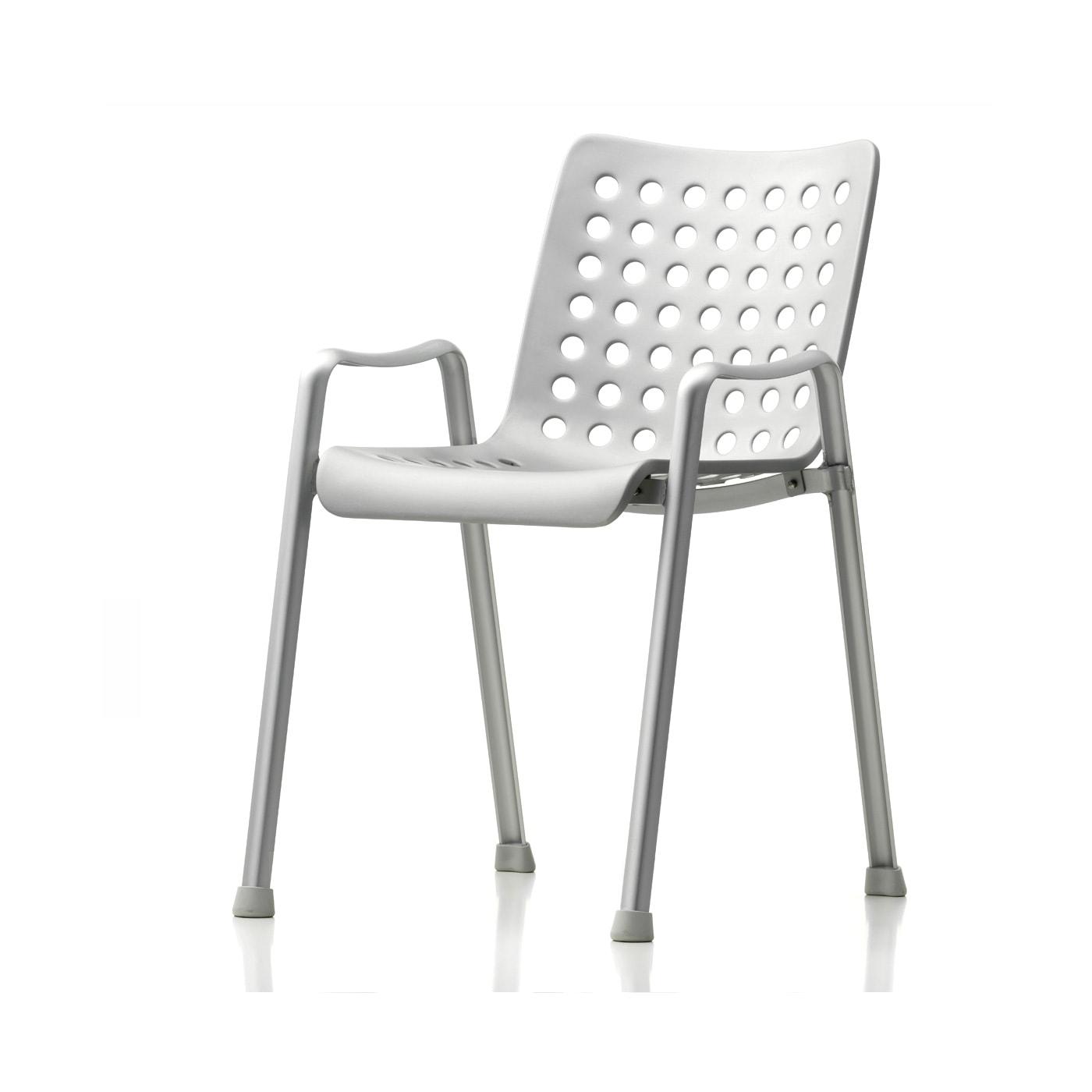 VITRA Landi sedia alluminio