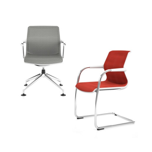 VITRA_UNIX CHAIR 4 razze cantilever