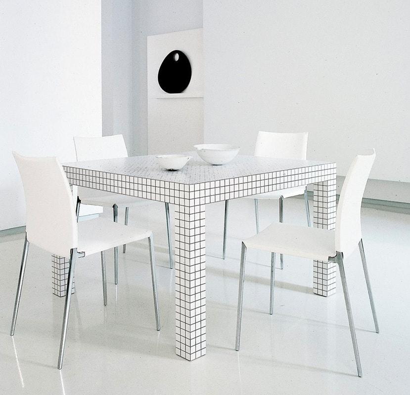 ZANOTTA Quaderna tavolo gallery