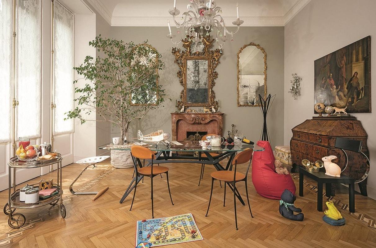 ZANOTTA Tonietta sedia cuoio gallery 4