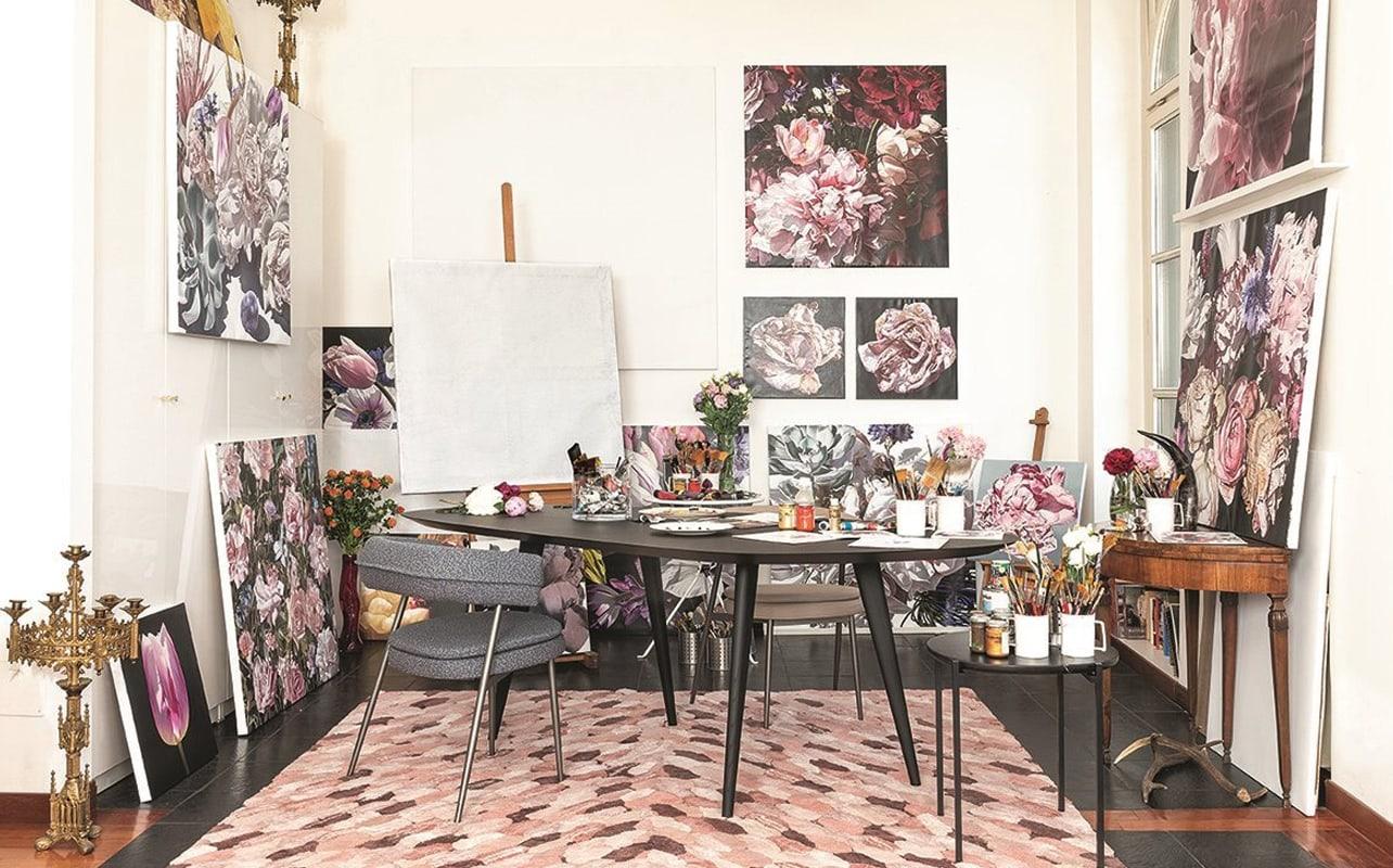 Zanotta Tweed tavolo legno - gallery1