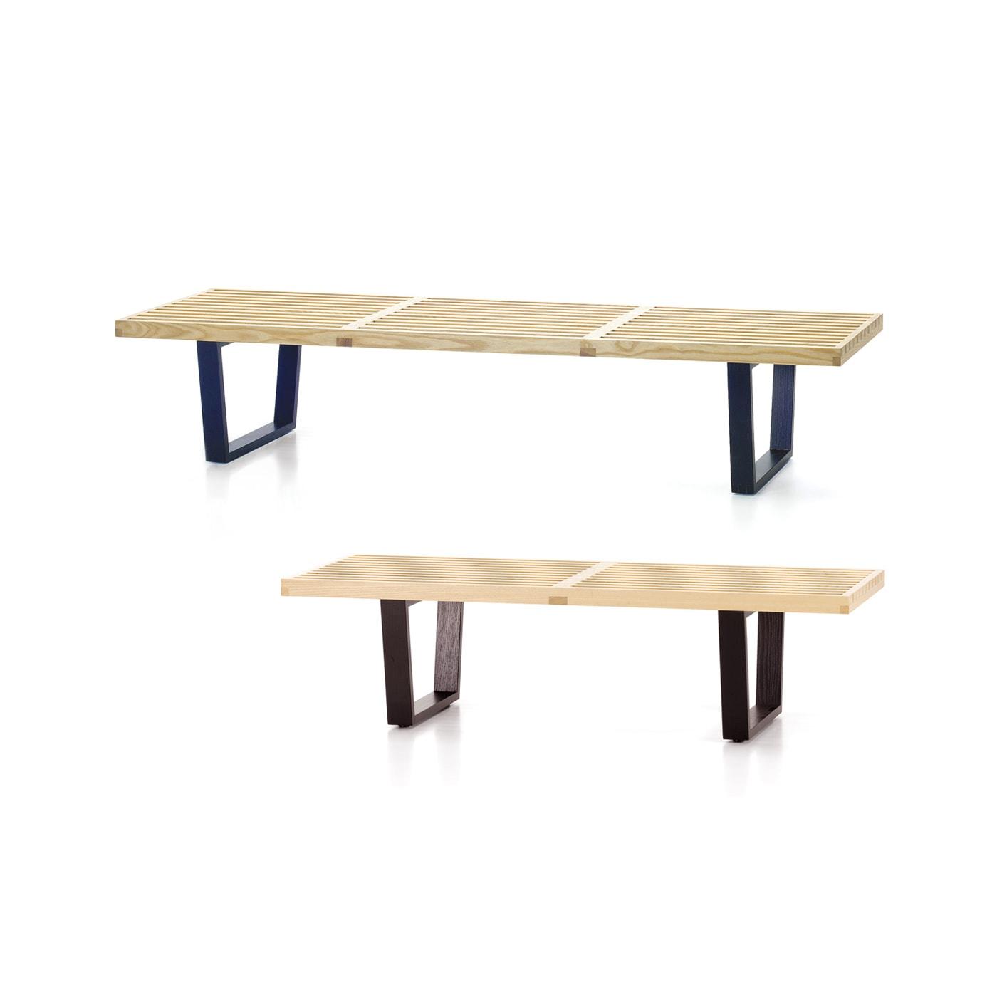vitra nelson bench panca legno - shop online