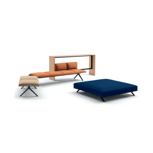 ARPER Kiik divano modulare console