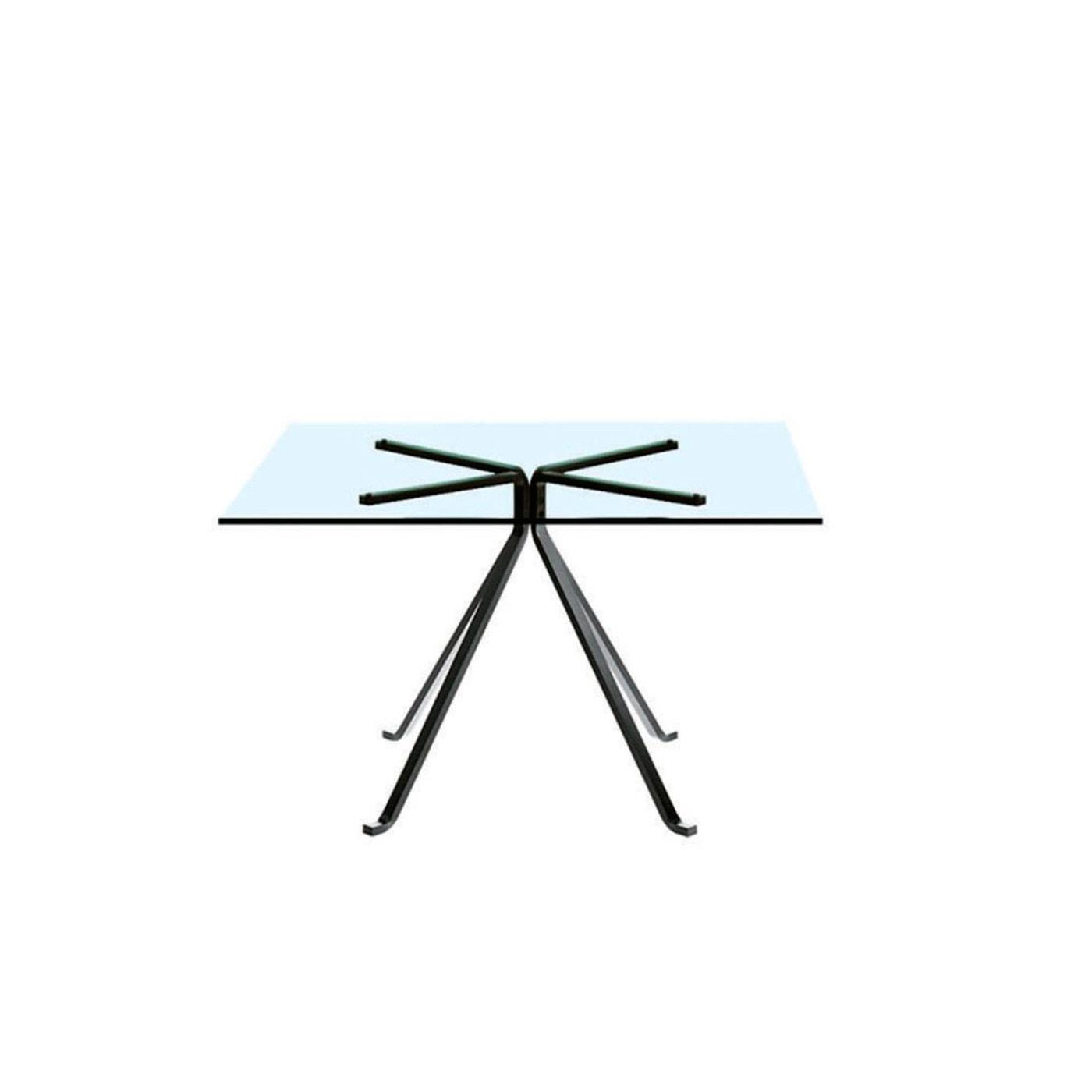DRIADE_Cugino-tavolo-quadrato in vetro