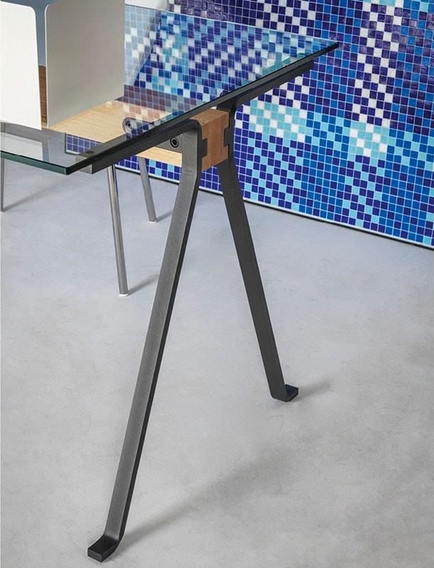 DRIADE_Frate-tavolo vetro e metallo gallery 6