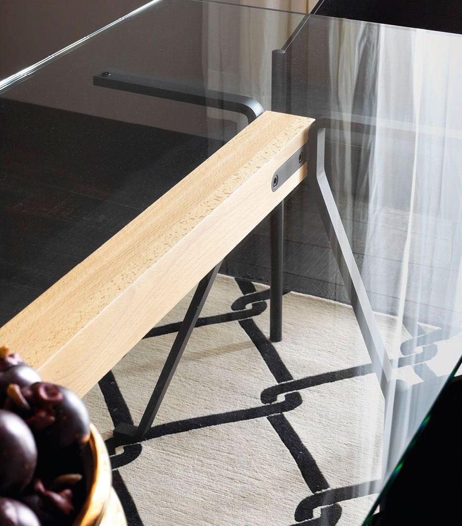 DRIADE_Frate-tavolo vetro e metallo gallery 5