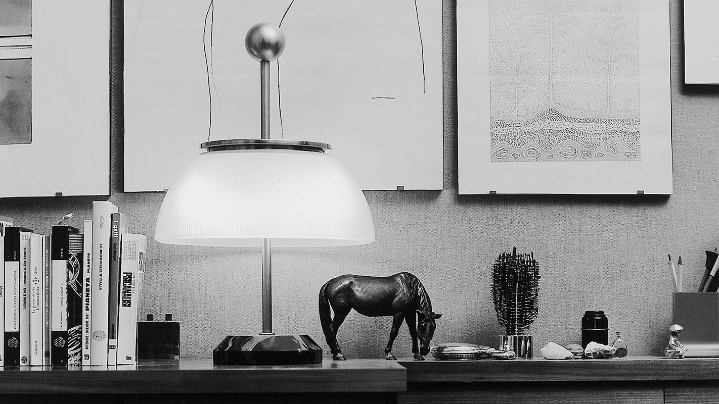 Artemide alfa lampada tavolo gallery 1