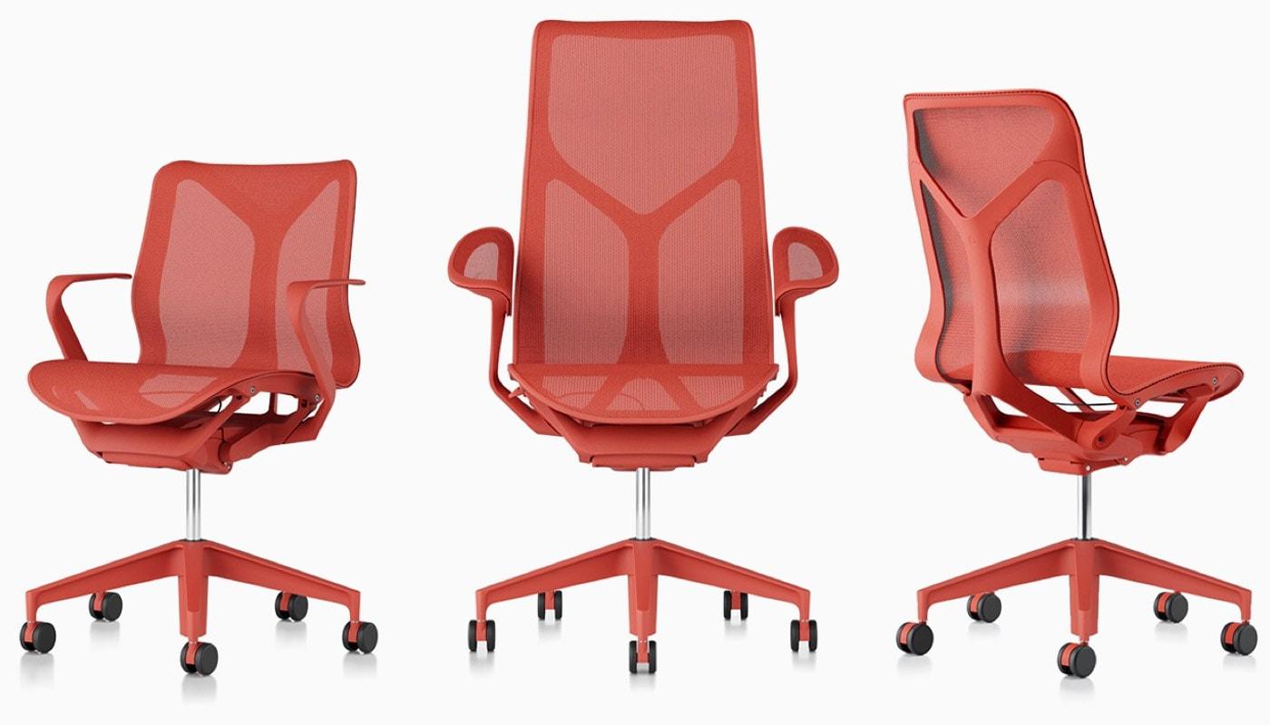 Cosm sedia schienale alto Herman Miller