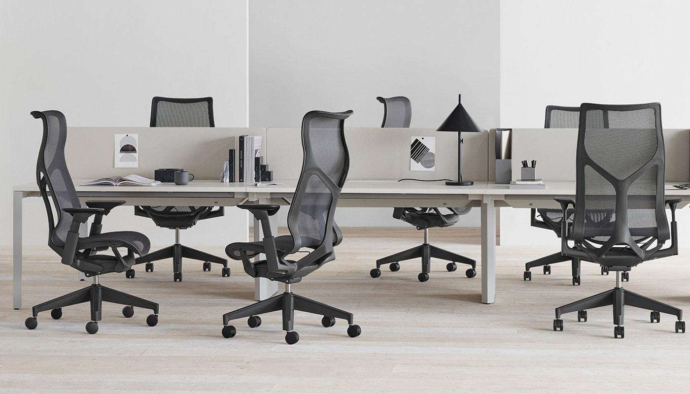 Herman Miller Cosm seduta ufficio alta Gallery 7