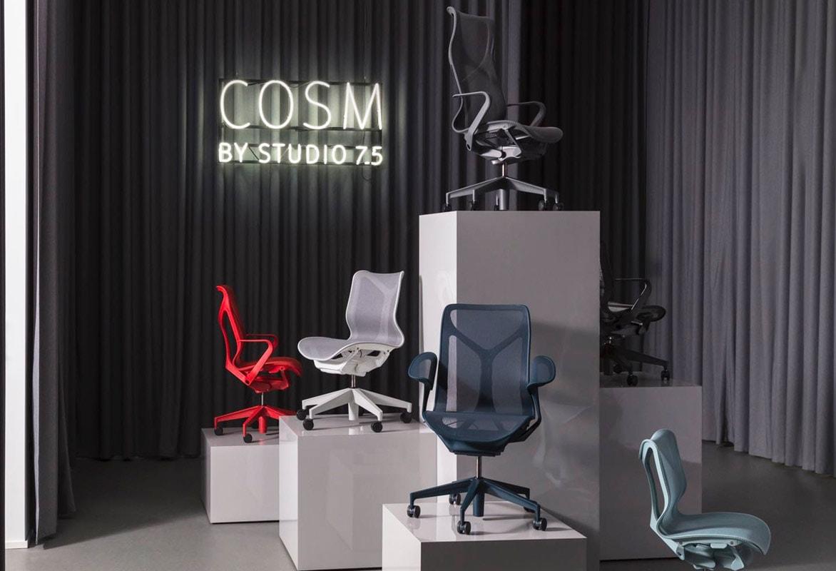 Herman Miller Cosm seduta ufficio Gallery 8