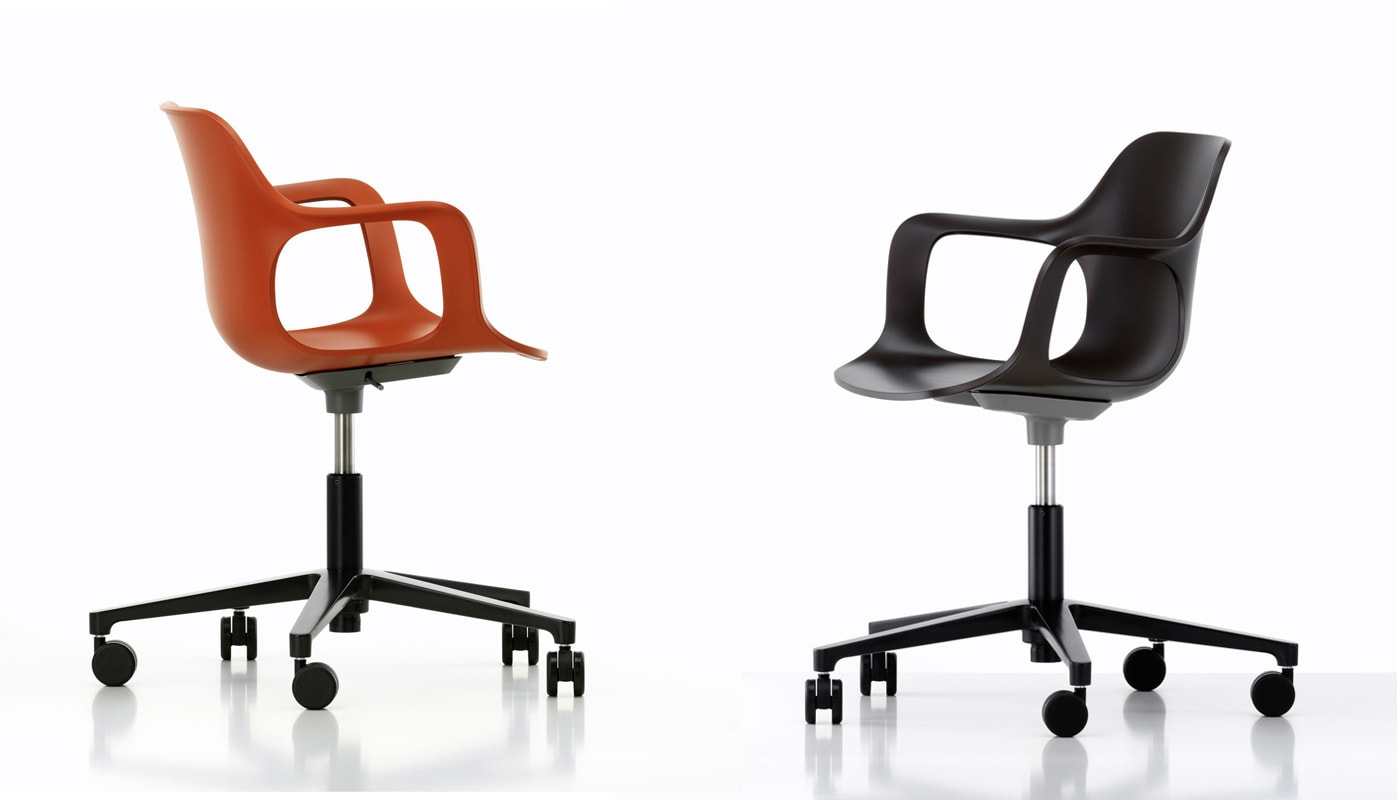 Vitra HAL Armchair Studio sedia ufficio - gallery