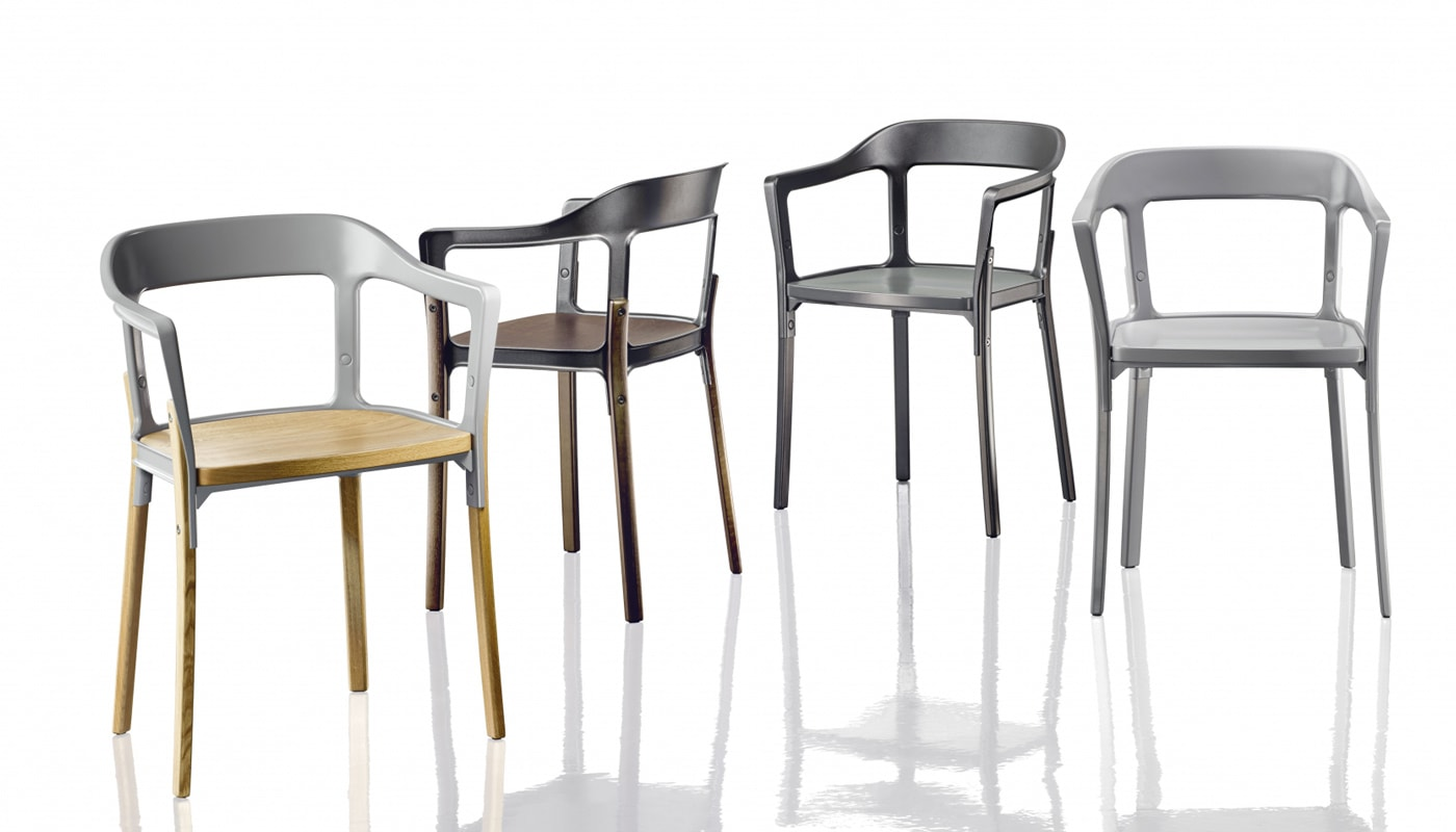 Magis SteelWod Chair - gallery