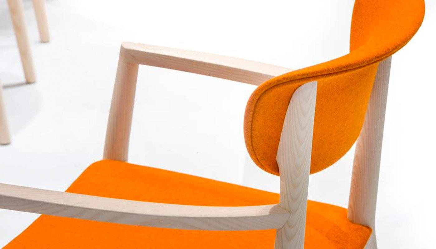 PEDRALI Tivoli sedia rivestita gallery