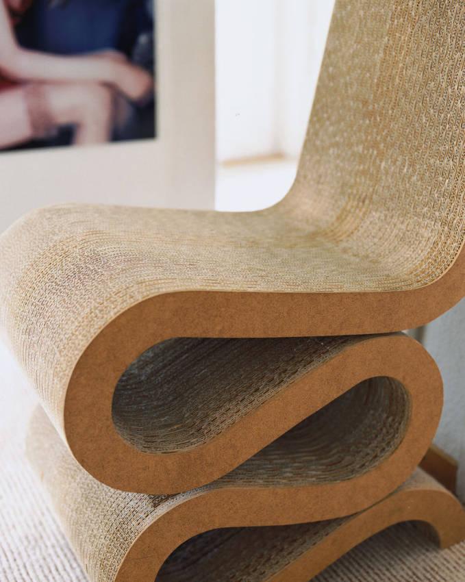 VITRA Wiggle Side Chair sedia