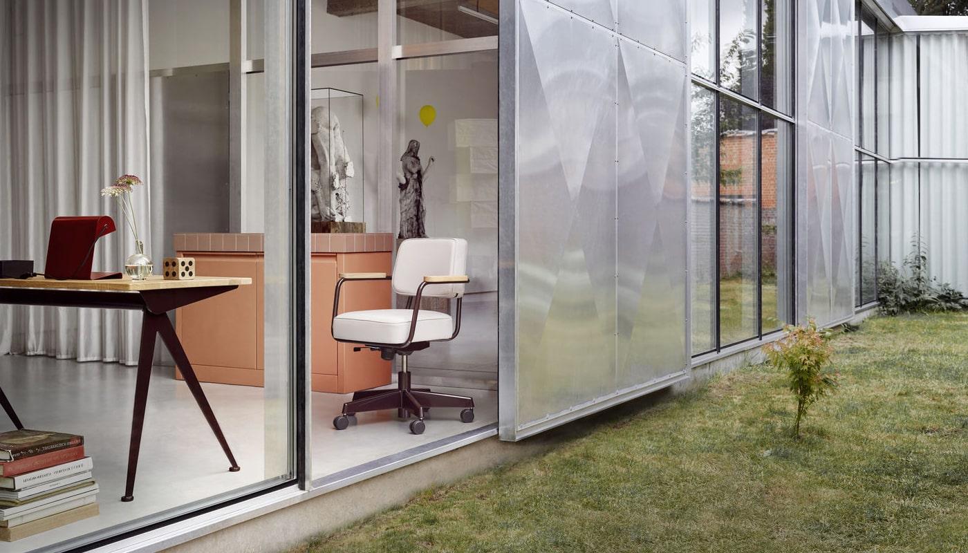 vitra fauteuil direction pivotant vendita online gallery 6