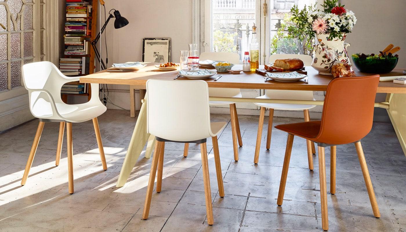 VITRA HAL wood seduta gallery1