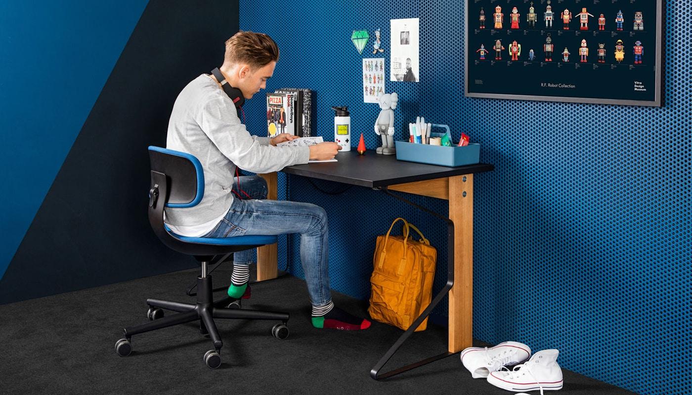 Vitra Rookie sedia smart working vendita online - gallery