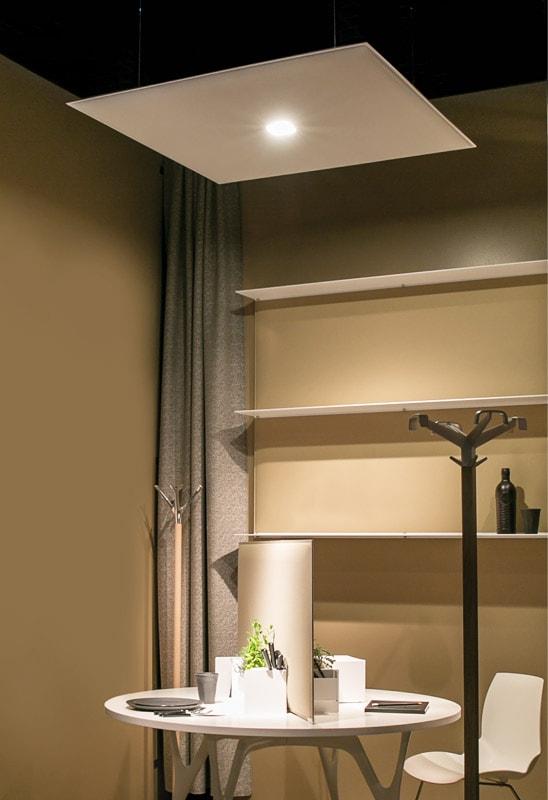 CAIMI Oversize LUX lampada fonoassorbente gallery 6 Blade mensole