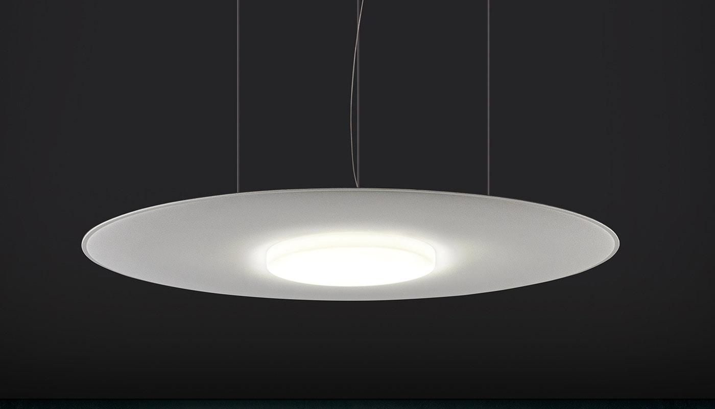 CAIMI Giotto-LUX lampada fonoassorbente gallery1