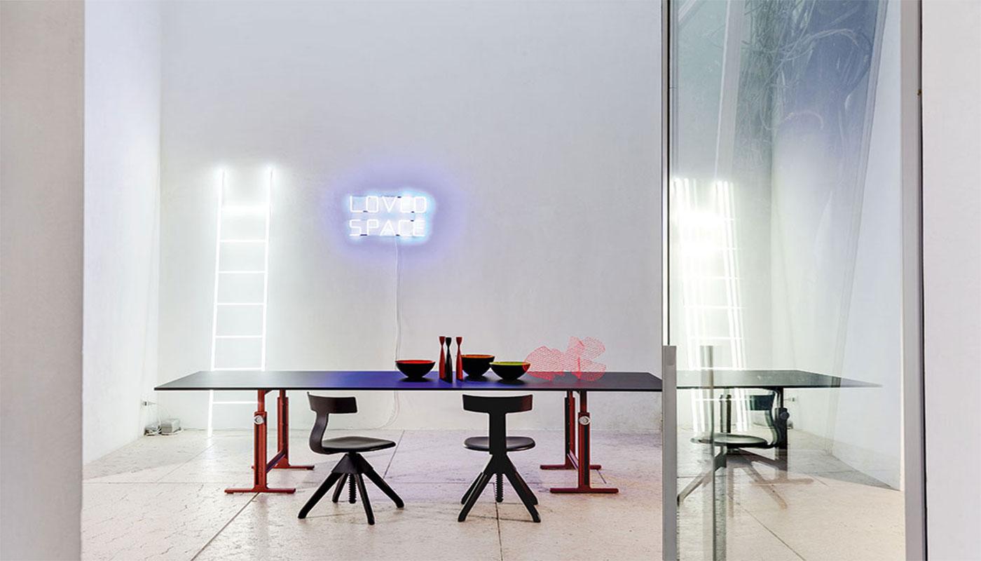 MAGI Brut trestle tavolo gallery 1