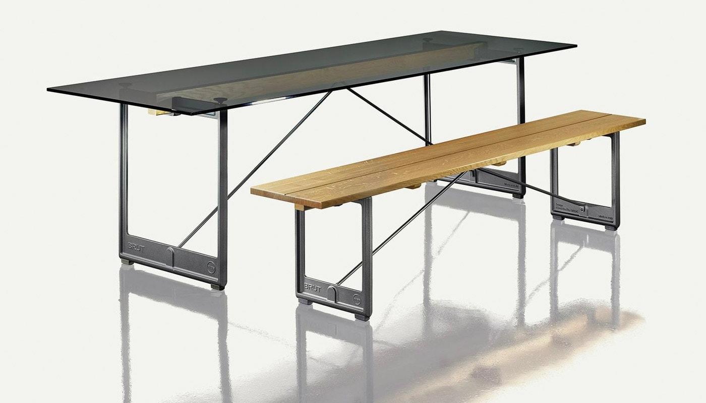 Magis Brut panca tavolo gallery