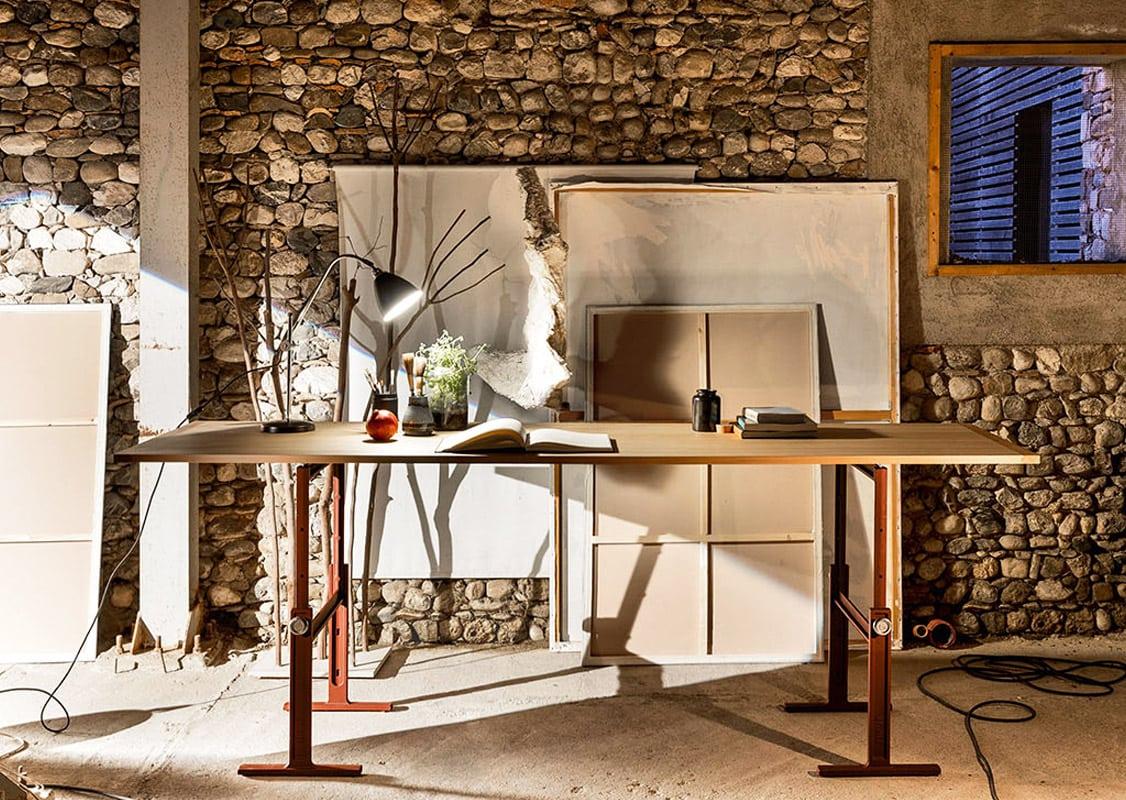Magis Brut Trestle tavolo regolabile gallery 2